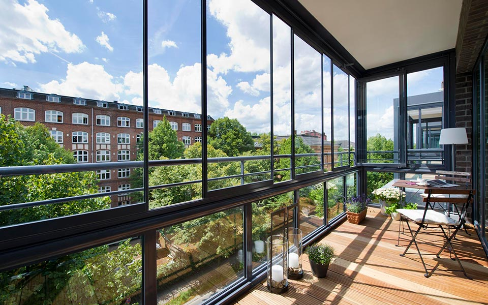 Balkon balkongel nder balkonverglasung glashaus rehm - Glashaus wintergarten ...