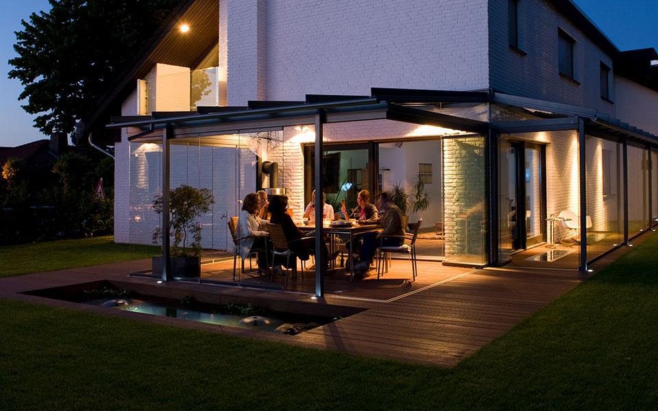 glashaus light glas schiebet ren terrassen berdachung wintergarten glashaus light. Black Bedroom Furniture Sets. Home Design Ideas