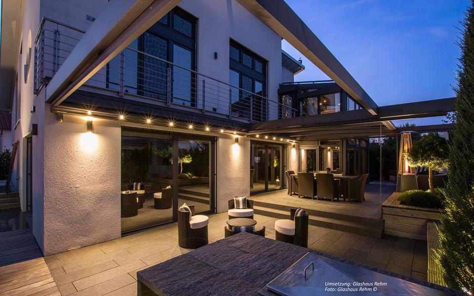 glashaus light glas schiebet ren terrassen berdachung. Black Bedroom Furniture Sets. Home Design Ideas