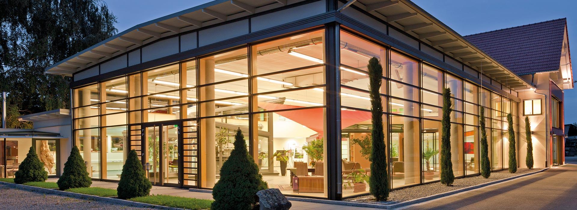 Unternehmen Glashaus Rehm Wintergarten Glashaus Light