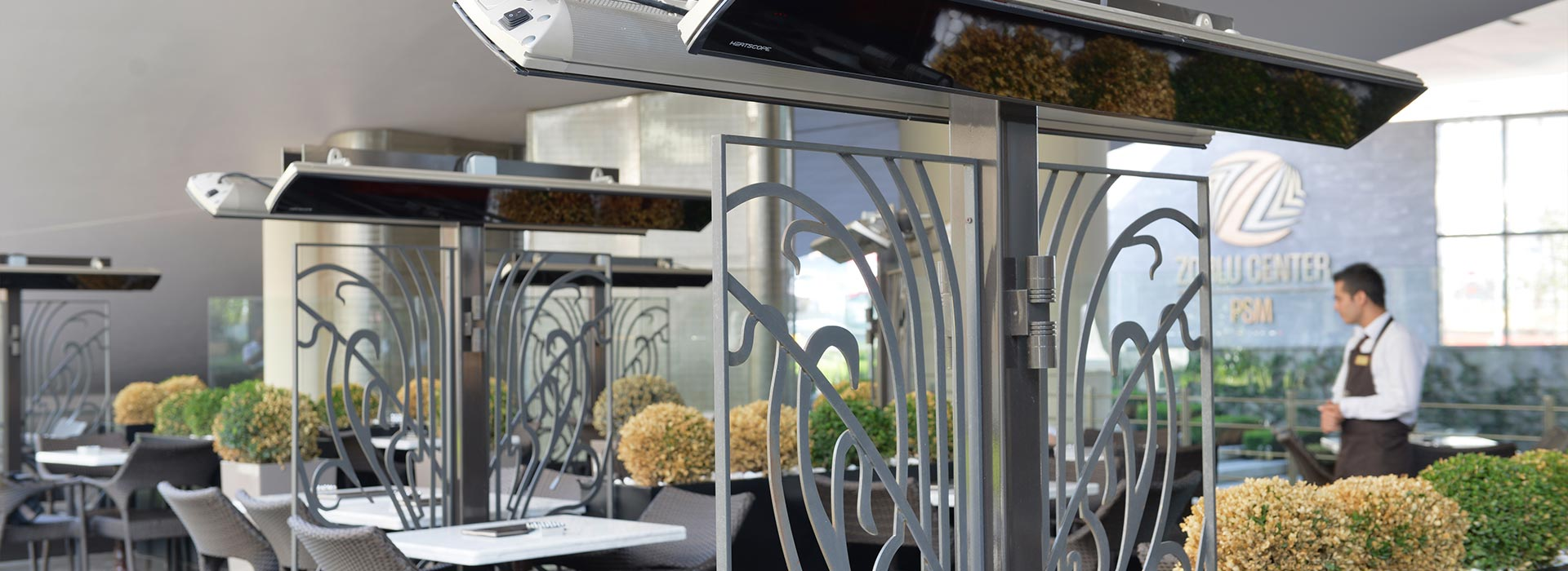 Heizung Heatscope Glashaus light Glashaus Rehm