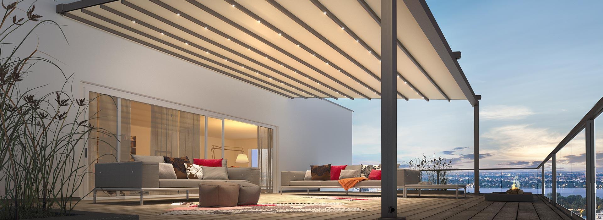textiler sonnenschutz berdachung glashaus rehm wintergarten glashaus light. Black Bedroom Furniture Sets. Home Design Ideas