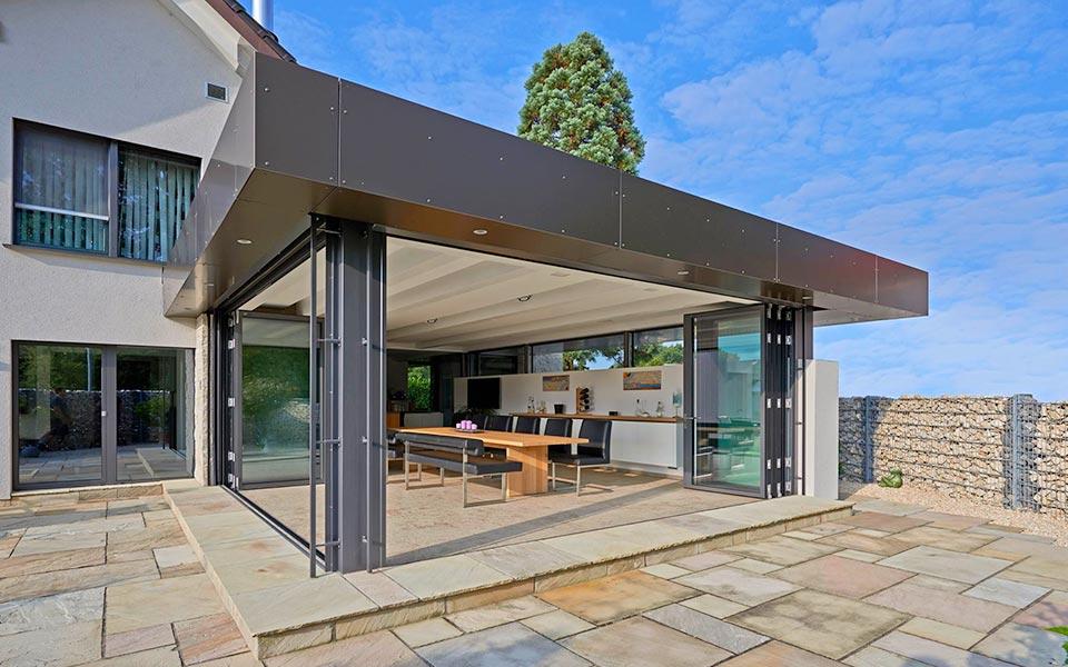 wintergarten wohnwintergarten terrassendach glasbau. Black Bedroom Furniture Sets. Home Design Ideas